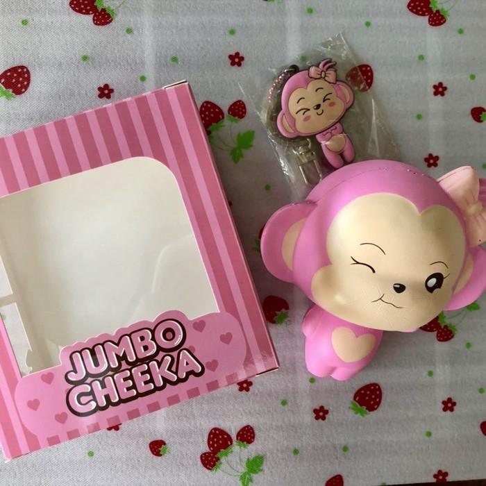 Soft And SlowRise Squishy Jumbo Punimaru Cheeka Puni Maru Licensed | Shopee Indonesia