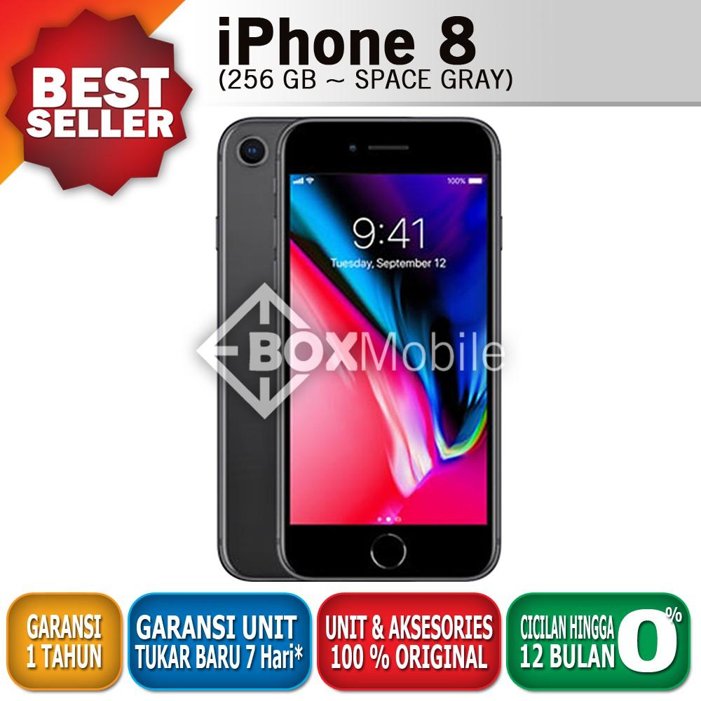 IPhone 8 256 GB Space Gray Garansi Apple 1 Tahun  89ab20e192