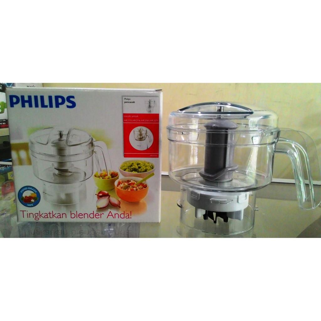 Meat Chopper Philips Diva Hr 2939 Untuk Blender 2115 2116 Hr2116 Hijau Putih Kaca 2061 2071 Shopee Indonesia