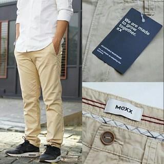 feinste Auswahl UK Verfügbarkeit bieten Rabatte Celana Panjang Chino Mexx Slim Fit Stretch Khaki Original