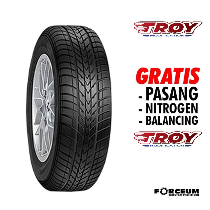 Ban mobil 185 60 Ring 14 tubles FORCEUM D 600 185/60 R14 tubbeles