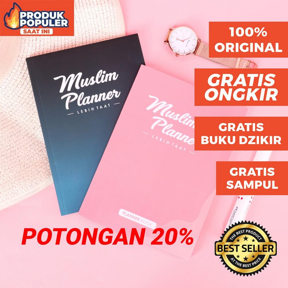 Original Muslim Planner Lebih Taat 2021 Buku Agenda Notebook Jurnal Shopee Indonesia