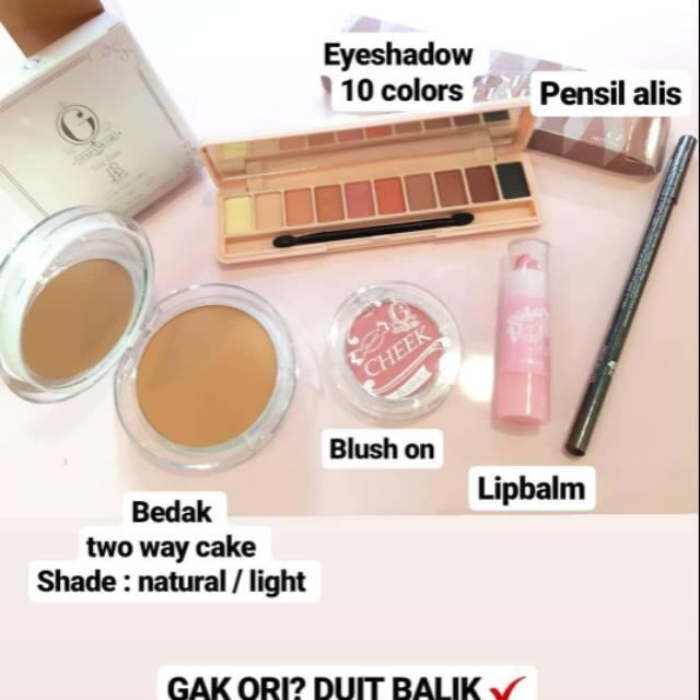 Paket Makeup Madam Gie Gisel Ori