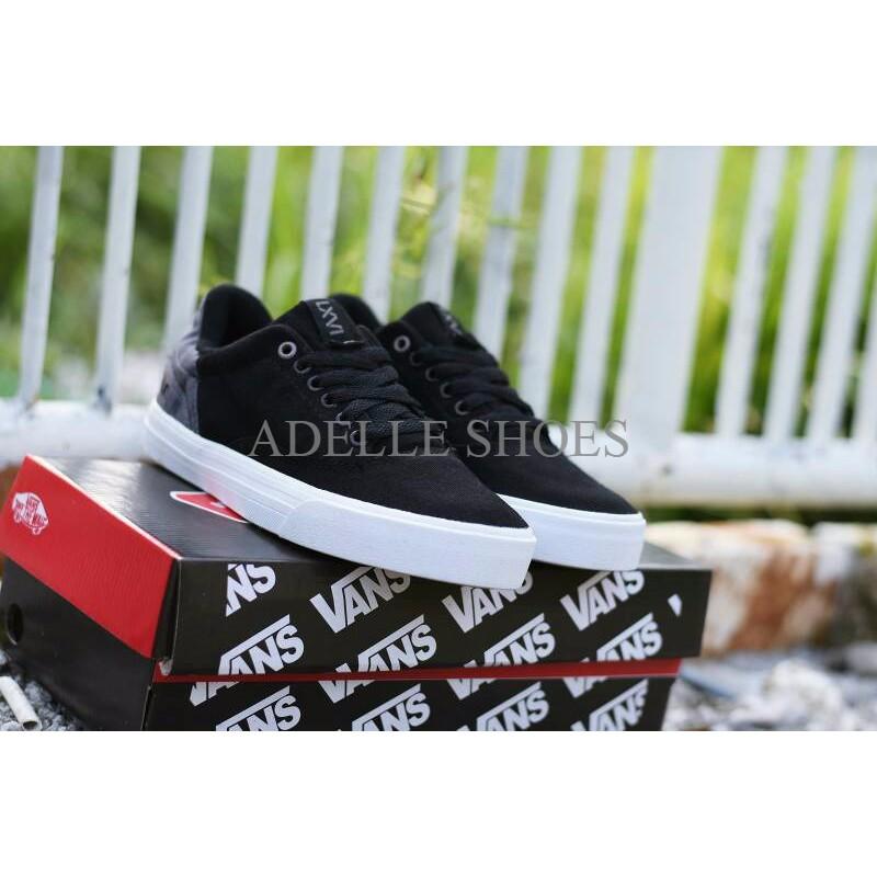 Sepatu Vans Old Skool Premium BNIB Hitam Putih   Sneakers Casual Pria  PALING MURAH  dac0814502
