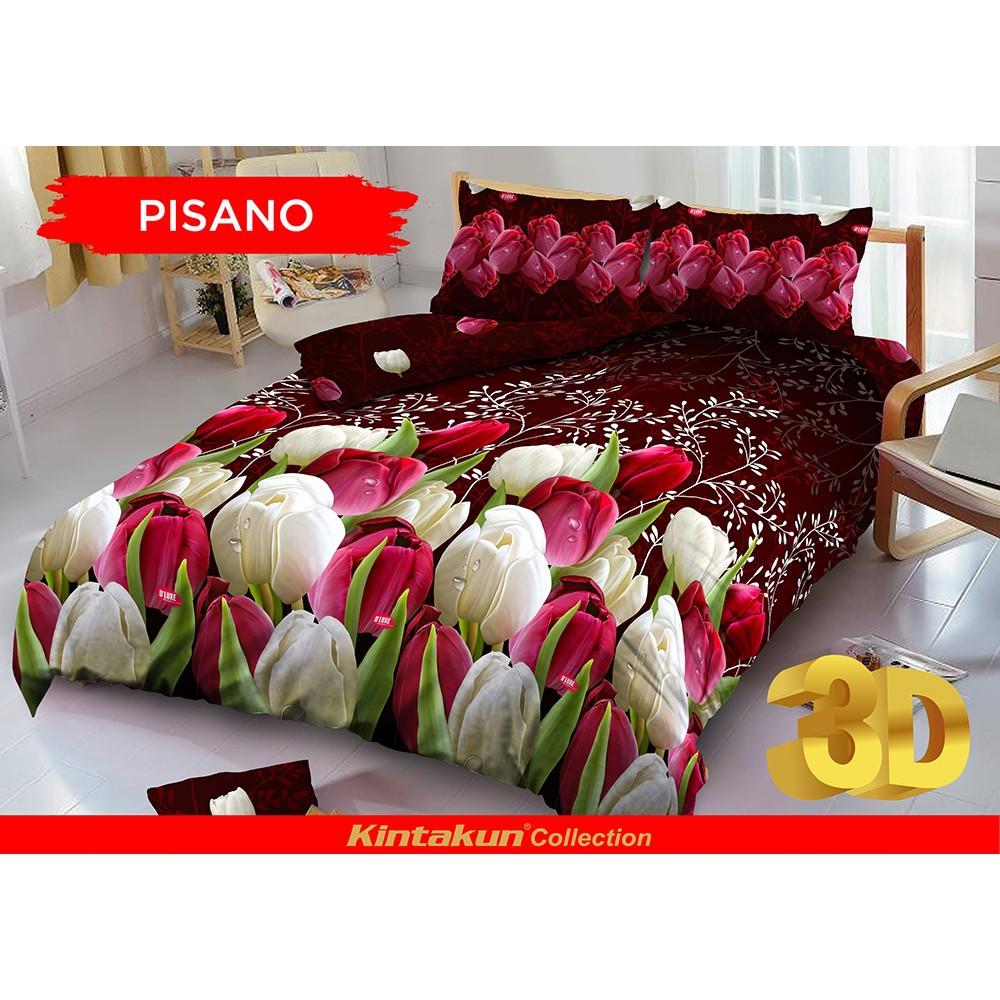 Home Klik Sprei Kintakun Uk 180x200 Motif Pisano Shopee Indonesia Golden Leaf 180 X 200 B4 King Raspberry