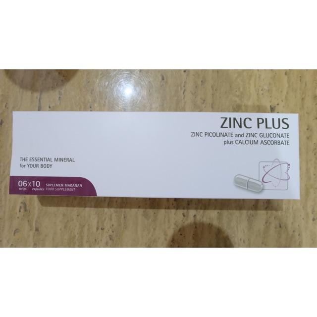 Zinc Plus Strip 10 Kapsul Suplemen Obat Jerawat Shopee Indonesia