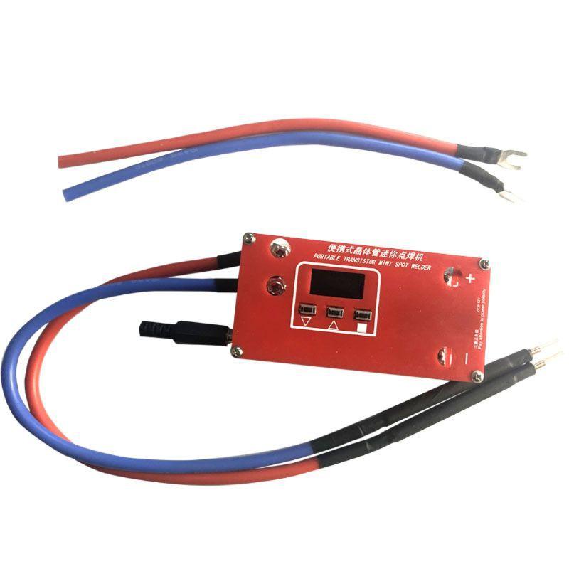 Portable Diy Mini Spot Welder Machine 18650 Battery Various Welding Power Supply Shopee Indonesia