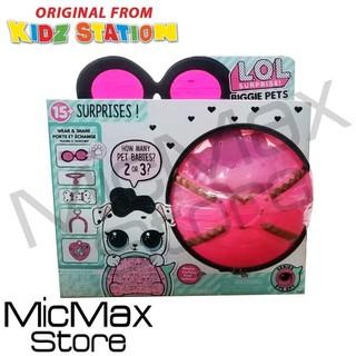 Lol Surprise Biggie Pets Original Lol Surprise Bigie Pet Tas Lol Figure Pet Lol 15 Surprises Shopee Indonesia