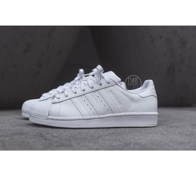 online retailer 665bd 7cf8f BARANG PILIHAN Adidas Superstar All White Women 100% ORIGINAL ✨
