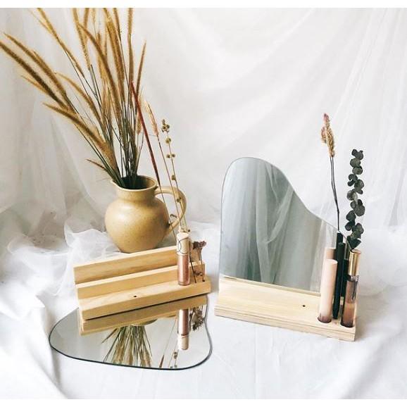 Cermin Aesthetic Vol 1 Aesthetic Korean Mirror Mirror Aesthetic Mirror Estetik Shopee Indonesia
