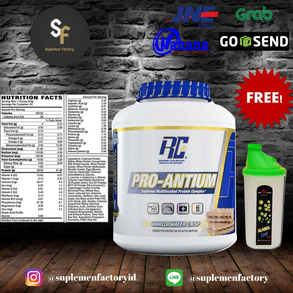 Ronnie Coleman Proantium 1 Lbs Shopee Indonesia Pro Hybrid Whey Ecer 2 Lb Mirip Elite Syntha Isobolic Mutant Protein Isolate
