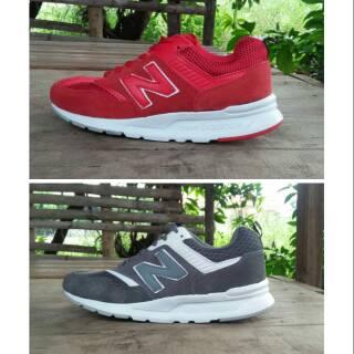 Sepatu Pria New Balance Sepatu NB 997H Red, Grey
