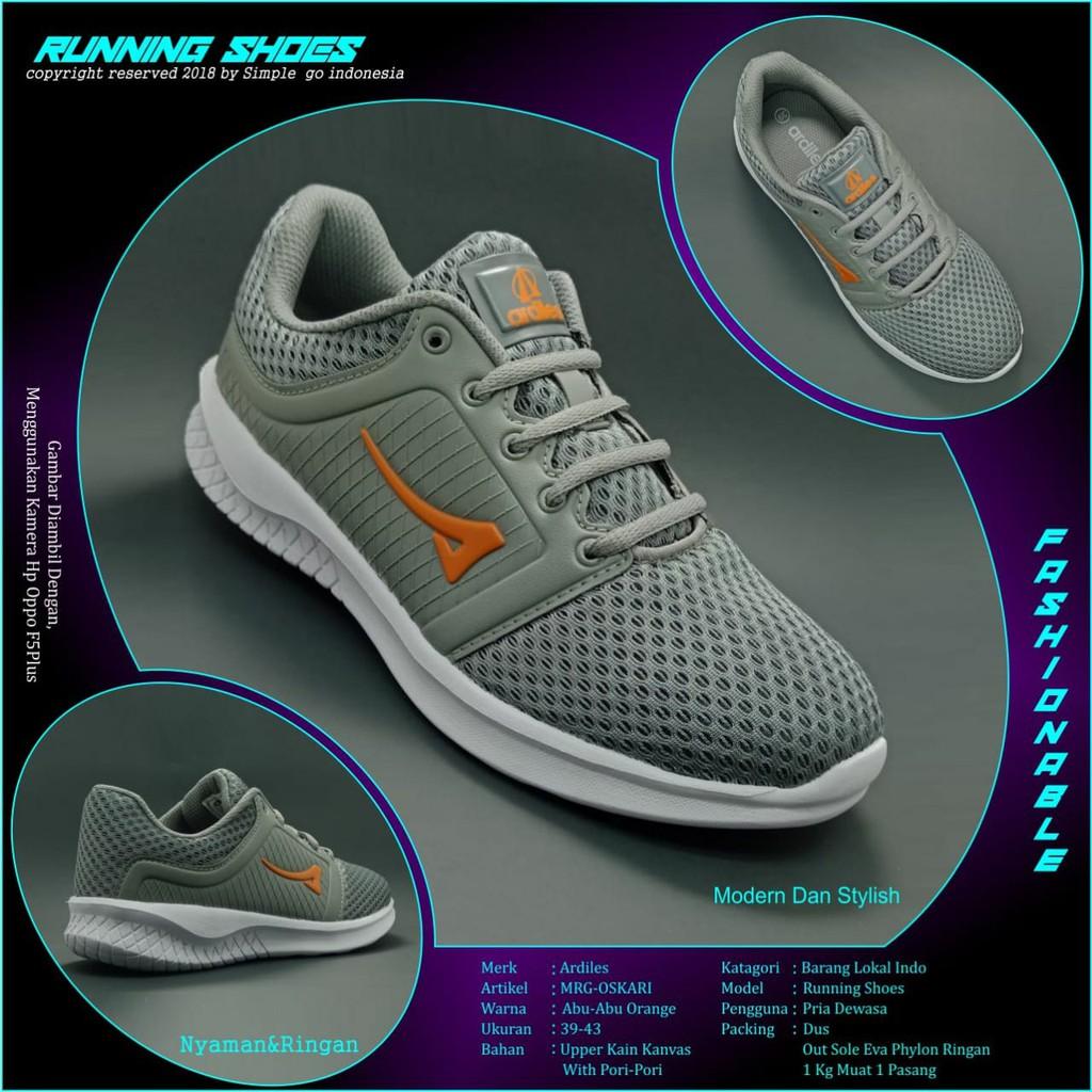 Shopee Indonesia Jual Beli Di Ponsel Dan Online Ardiles Men Edogawa Sepatu Running Hitam 39