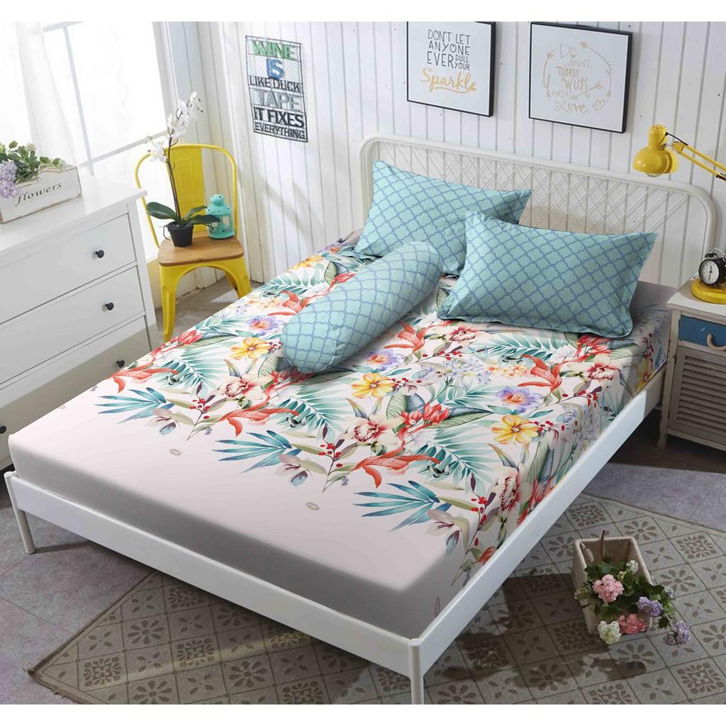 Kintakun Dluxe Bed Cover 180 X 200 King Jemima Shopee Indonesia Sprei Rumbai Bantal Busa Rbb B2