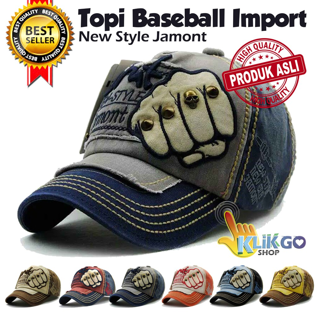 TOPI BASEBALL IMPORT JAMONT DESIGN  SNAPBACK CAPS   TOPI DISTRO TRUCKER  d379b2be50