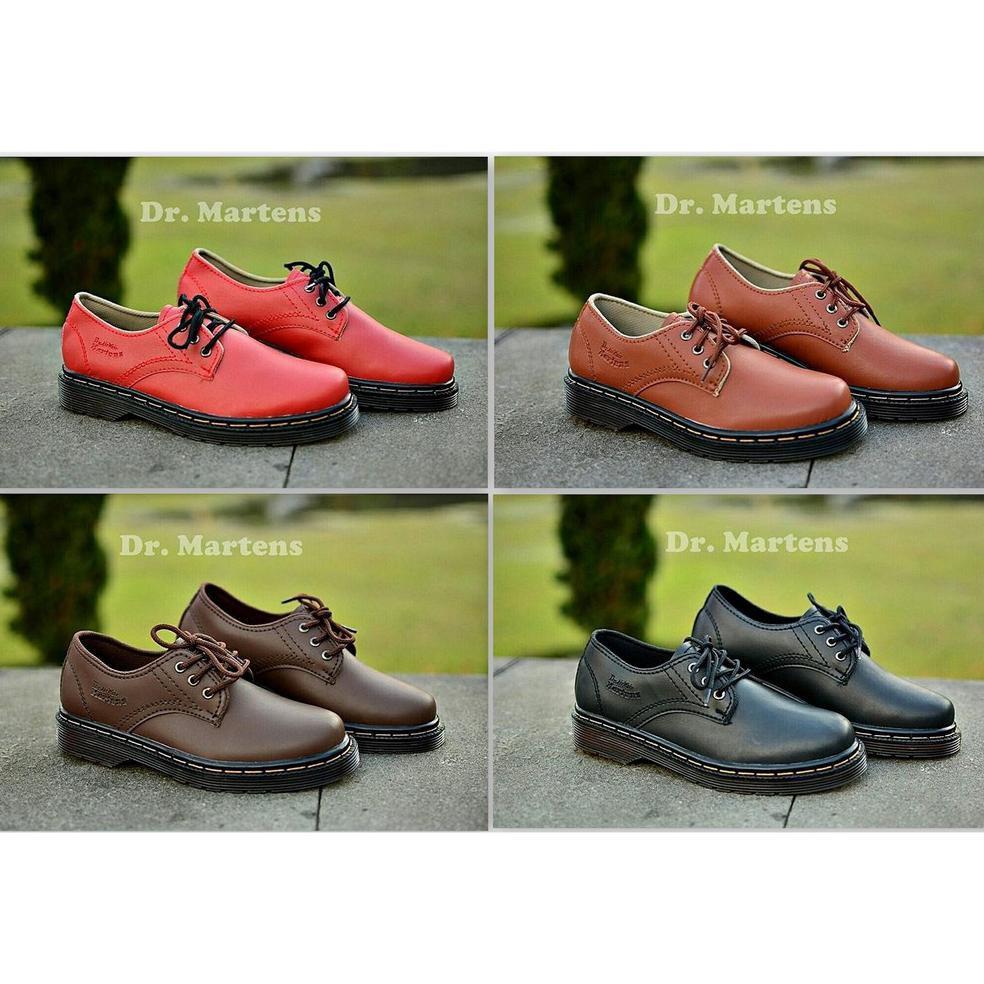 Sepatu Boots Dr Martens sepatu pria Sepatu docmart Sepatu Dokmart kulit unisex sepatu pdl delta   Shopee Indonesia