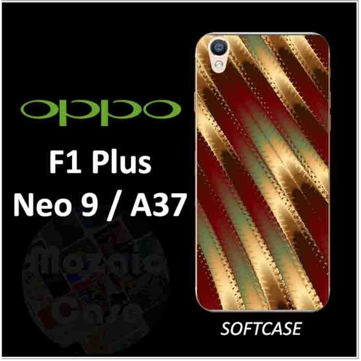 Softcase Custom Oppo F1 Plus, Neo 9-A37 pink black glitter zebra | Shopee