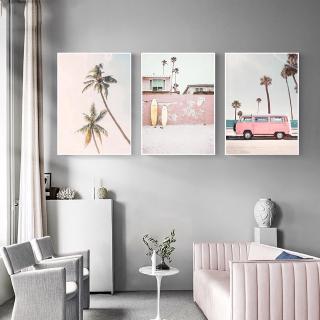Poster Dinding Kanvas Motif Lukisan Cat Minyak untuk Ruang ...
