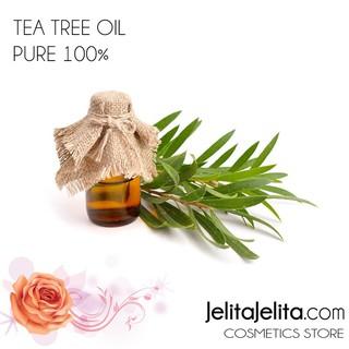Tea Tree Essential Oil / Minyak Tea Tree Pure 100% Natural Alami 10ml