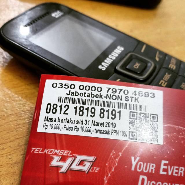 Nomor Cantik Simpati Hoki Qq 0812 1819 8191 Shopee Indonesia