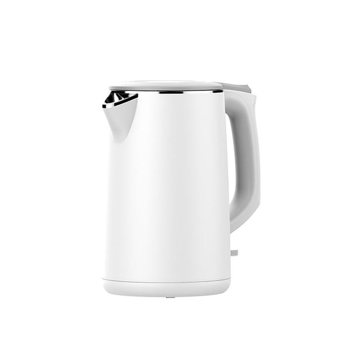 Arashi Teko Listrik/ Electric Kettle Otomatis Milk Tea [ 1.7L ] AKE D1701 - Putih
