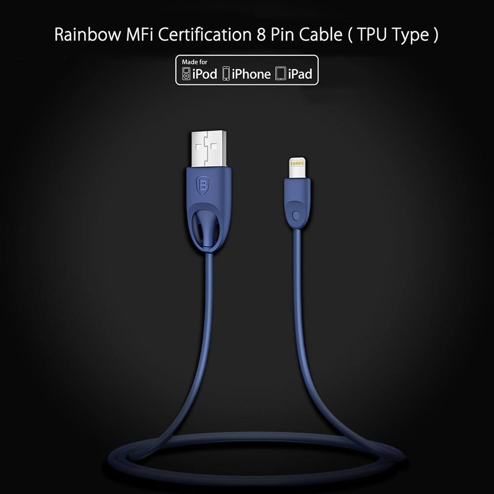 Baseus Seri Rapid Series 3A 2 in 1 8 Pin + Kabel Micro USB 1.2M | Shopee Indonesia