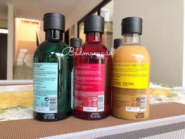 The Body Shop Shampoo-3