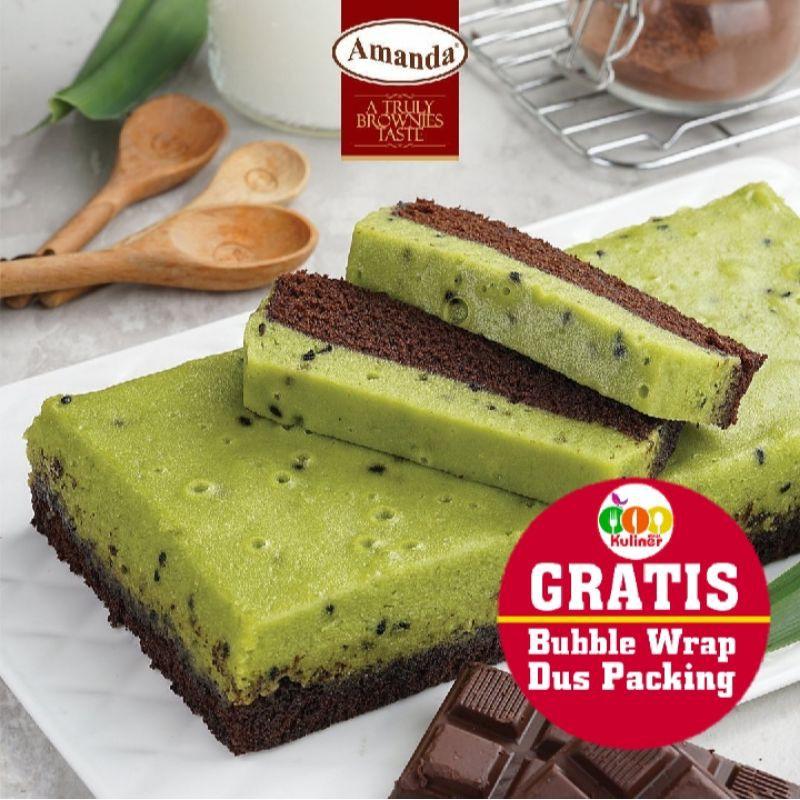 Brownies Amanda SARIKAYA PANDAN Amanda Brownies Kukus Oleh Oleh Bandung