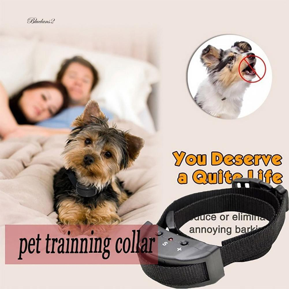 Electric Anti Stop Barking Control Pets Automatic Pet Dog Shock No Bark Collar