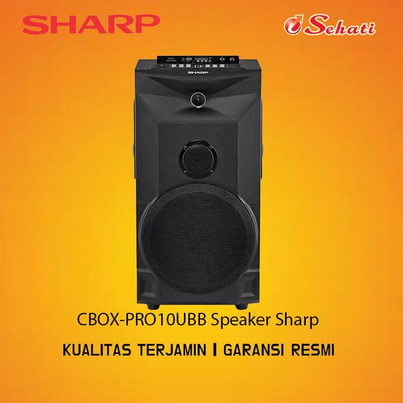 SHARP/SPEAKER/SPEAKER SHARP/CBOX-PRO10UBB