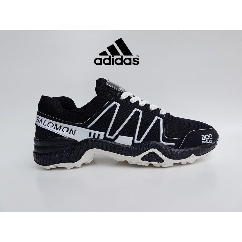 Sepatu Sport Adidas Salomon Lab Murah Sneakers Hitam Putih