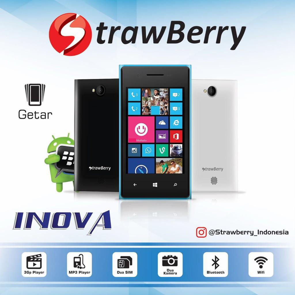 Strawberry Android Inova S8805 Layar 35 Inch Dual Camera Smartphone Brandcode B3 Prince Lcd Jelly Bean Ram 256 Shopee Indonesia