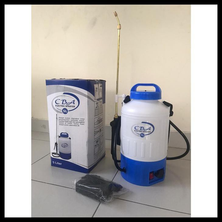 Semprotan Sprayer Elektrik Cba 5 Liter