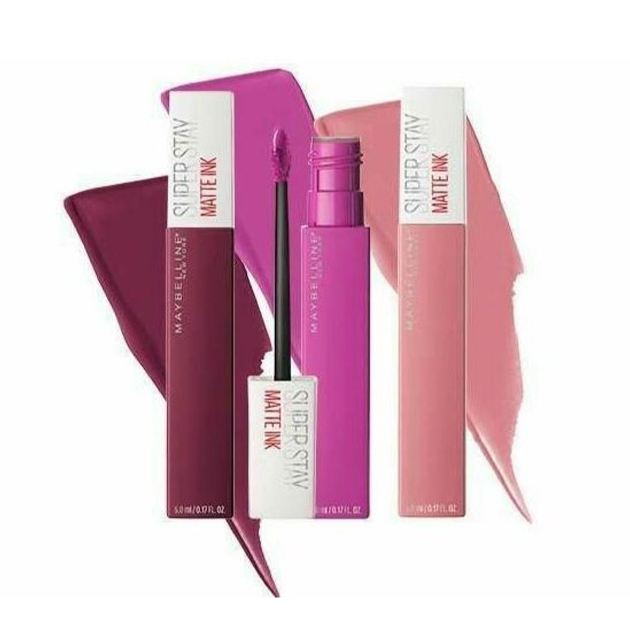 MAYBELLINE Super Stay Matte Ink (Part 2) | Shopee Indonesia