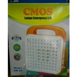 Lampu Darurat / Emergency Lamp Rechargeable CMOS HK-6 LED | Shopee Indonesia