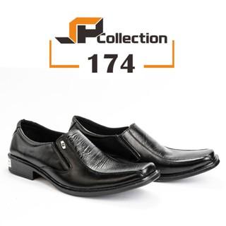 Sepatu Pantofel PDH kode 3 Best Seller Kulit Sapi Asli Buat Ke Kantor -  Hitam- 39  6750bb2215