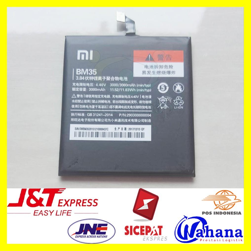 Baterai Xiaomi Mi4c Original Batre Bm35 Hp Xiomi Asli Ori Battery Redmi Note 2 Prime Bm45 Bm 45 Xiao Mi Batrai Battre Batray Batere Baru Xkomi 4c 35 Shopee Indonesia