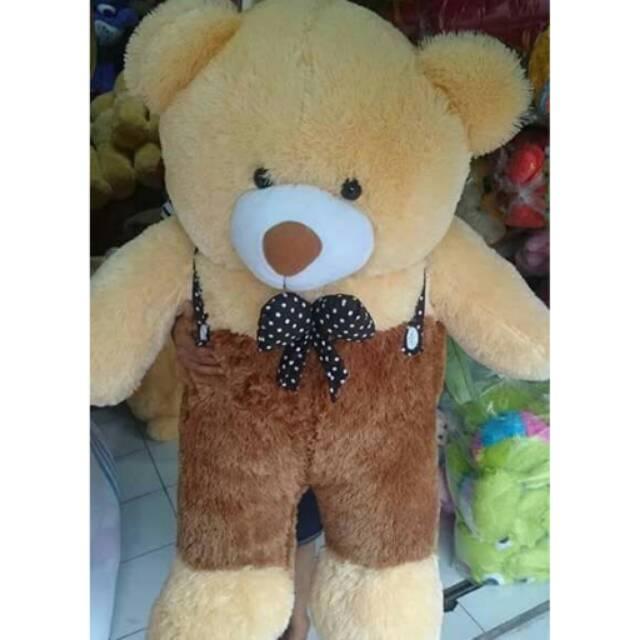 Boneka teddy bear super jumbo ukuran 1 3893a73b57