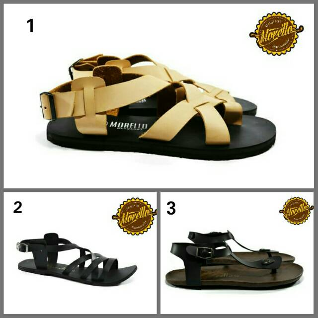 Sandal trendy unisex morello sandal kasual ori best seller | Shopee Indonesia