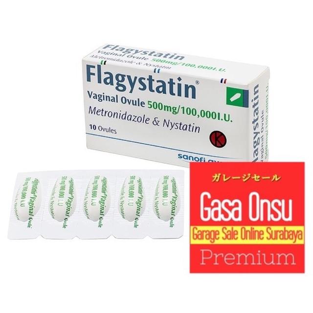 Flagystatin Ovule Obat Keputihan Pervaginal Albothyl Ovula