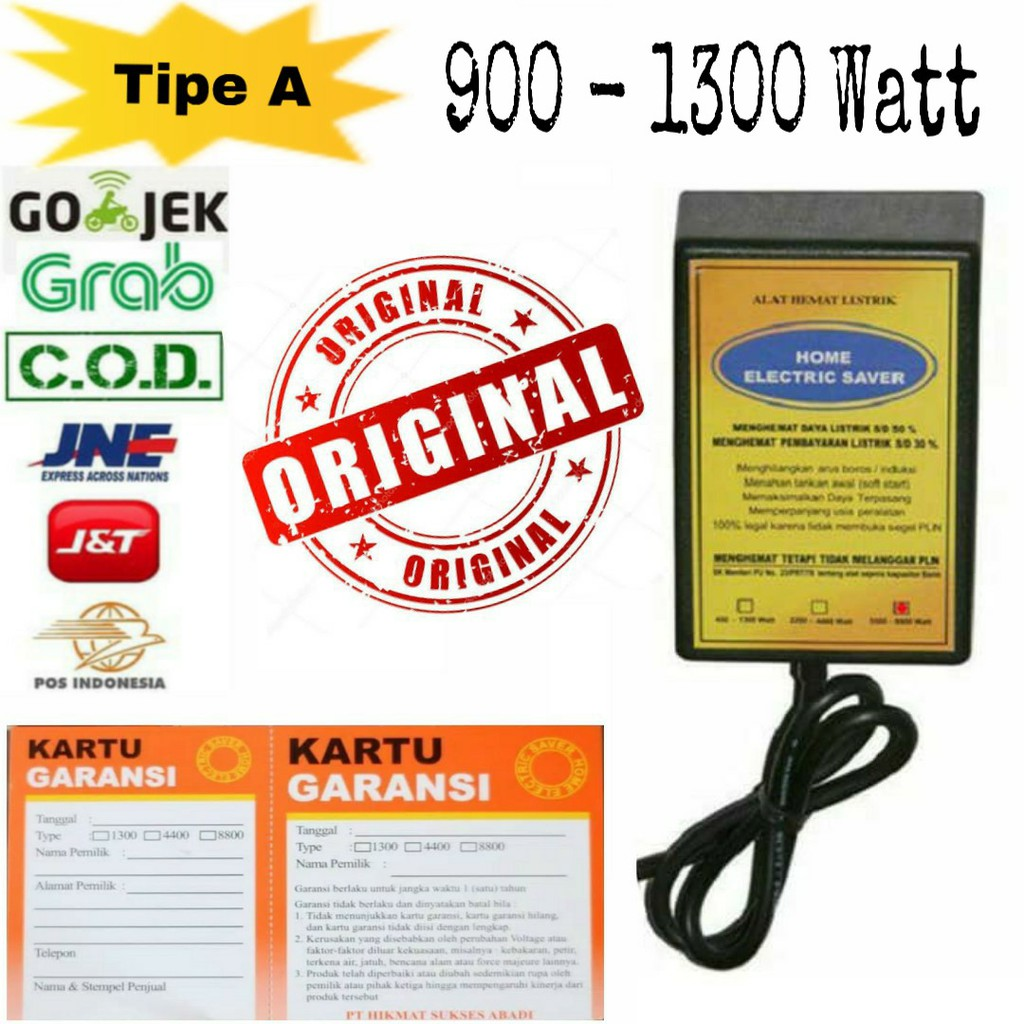 Penghemat Listrik Original - Home Electric Saver 2200-4400 Watt (Grosir) | Shopee Indonesia