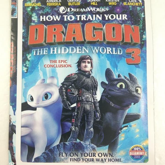 Kaset Dvd Film Anak Anak Bioskop Kartun Animasi Dragon Shopee