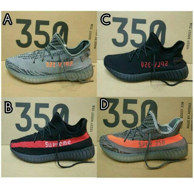 47f871828 ▻ Jual!! Sepatu Adidas Yeezy Boost Sply 350 V2 Supreme - Sneakers Terbaru