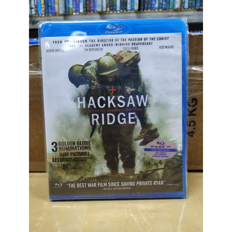 Bluray Hacksaw Ridge 1080p Shopee Indonesia