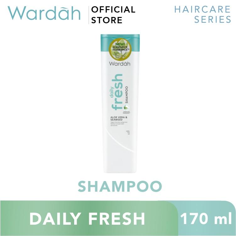 Wardah Daily Fresh Shampoo 170 ml - rambut halus, wangi dan segar