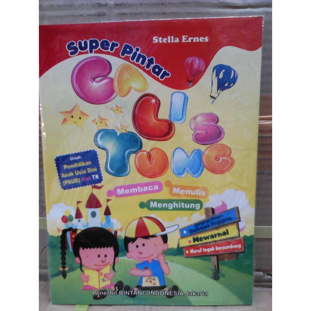 Buku Activitas Menulis Menghitung Mewarnai Shopee Indonesia