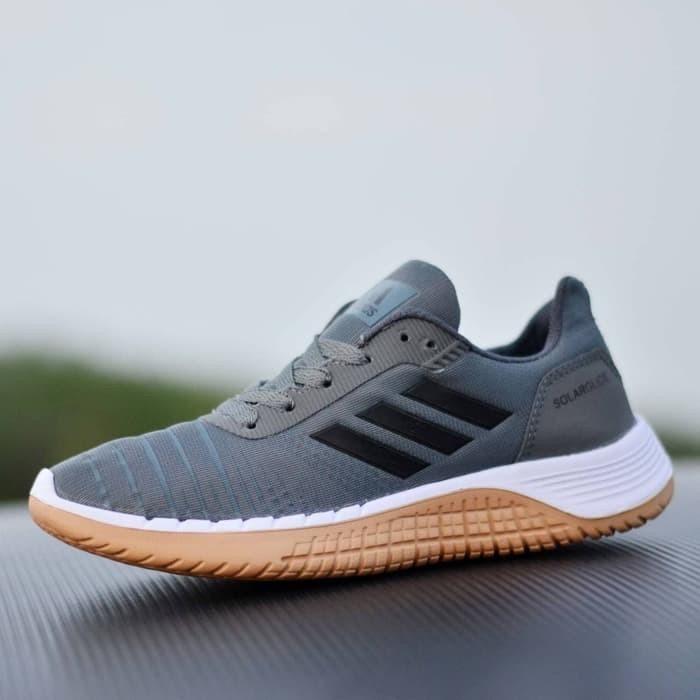 Promo Sepatu Sport Casual Pria Adidas Solarglide Men Sneakers New