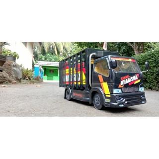 Miniatur Truk Bahan PVC   Shopee Indonesia