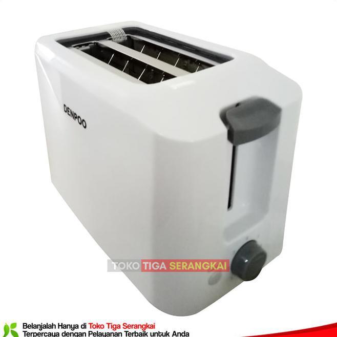 DISKON Denpoo Toaster Panggangan Roti DT-023D -Putih ...