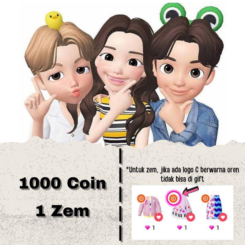 Coin dan Zem Zepeto Murah dan Legal via gift item